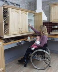 handicap accessible kitchen cabinets